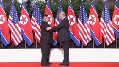 Trump: 'Overleg met Kim beter dan verwacht'
