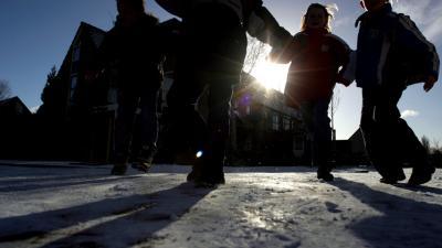 Foto van spelende kinderen | Archief EHF