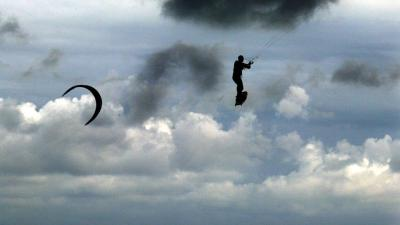 foto van kitesurfer | fbf