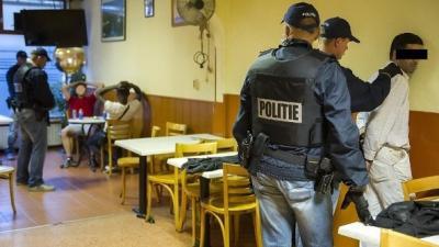 Foto inval koffiehuis | Politie