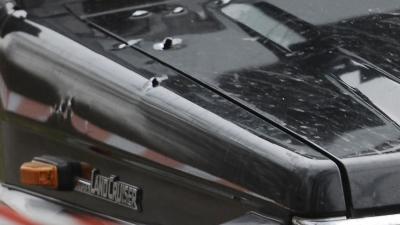 Kogelregen beschadigt auto's in Rotterdam