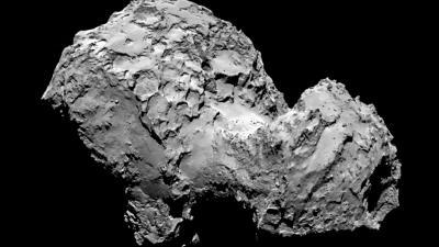 ESA's 'kometenjager' Rosetta na 6.500.000.000 km aangekomen bij komeet