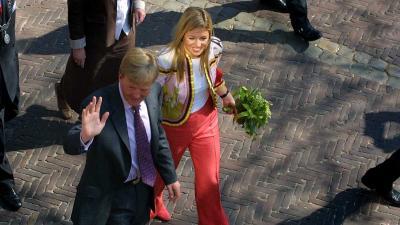 Koninklijke familie bewaart 'warme gevoelens' aan bezoek in Zwolle