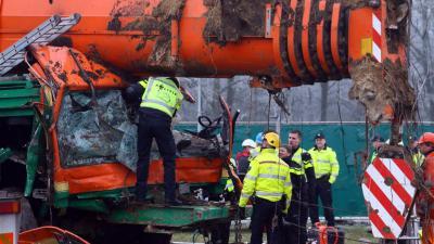 Chauffeur overleden na ernstig ongeval met kraanwagen in Gieten