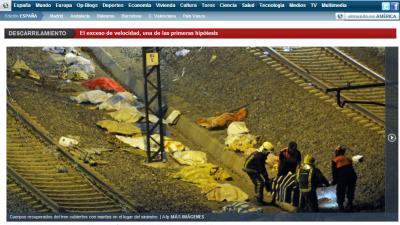 foto van treinramp Spanje | elmundo