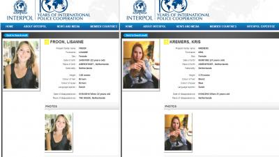 foto van interpol vermisten | Interpol