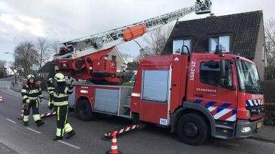 Brandweer in Boxtel van schoorsteenbrand naar schoorsteenbrand