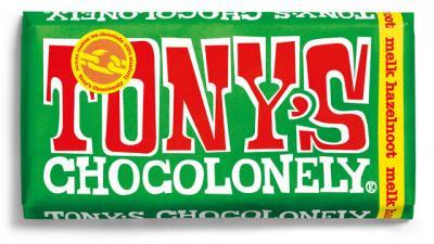 NVWA waarschuwt voor melkchocolade repen Tony Chocolonely