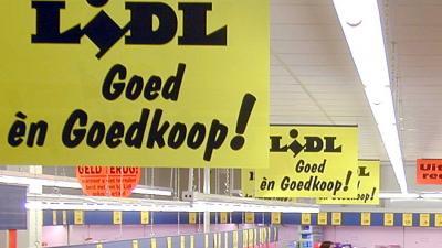 Supermarktketen Lidl afgeperst voor miljoenen
