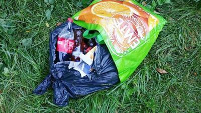 Politie waarschuwt voor gevaarlijke limonadeflesjes met chemische vloeistof