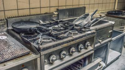 Lege keuken