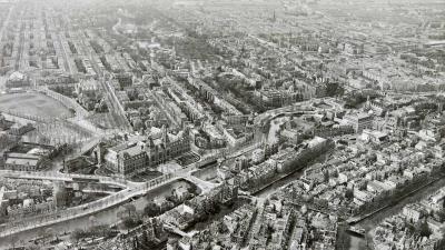 Zo zag Nederland een eeuw geleden eruit vanaf boven