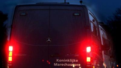 Foto van busje Marechaussee | Archief EHF