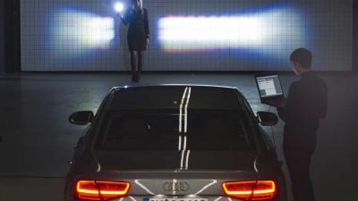 Foto van matrix LED-koplamp Audi | Audi
