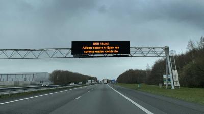 matrixbord-corona-snelweg