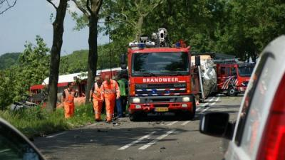 Foto van ongeval N362   Dennie Gaasendam   www.denniegaasendam.nl