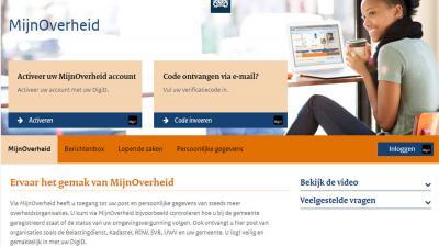 Berichten op MijnOverheid.nl vaak niet opgemerkt door burgers