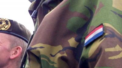 militair-camouflage-vlag