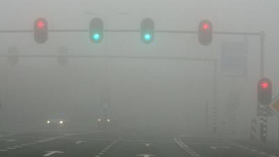 Vanochtend dichte mist en kans op gladde wegen
