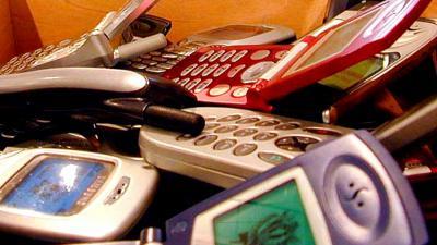 Foto van mobiele telefoons | Archief EHF