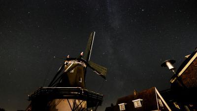 Friese steden doen het goed qua lichtvervuiling