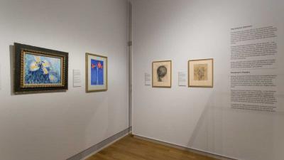 'Vroege' bloemen Mondriaan te zien in Rijksmuseum