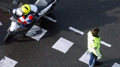 motorrijder, verkeers ongeval