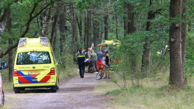 mountainbiker-ambulance
