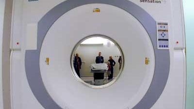 Foto van een MRI-scanner   Archief EHF