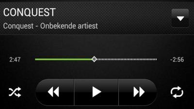Foto van muziek bestand MP3-speler | Archief EHF