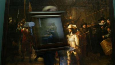 Onderzoek naar verouderingsverschijnselen schilderij de Nachtwacht