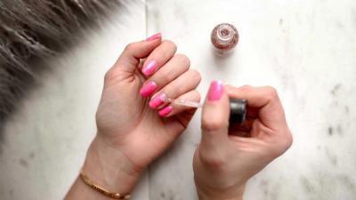 nagellak-handen