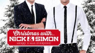 Cover van kerstcd Nick & Simon