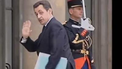Oud-president Nicolas Sarkozy Frankrijk opgepakt om fraude