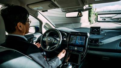 Eerste praktijktest autonoom rijden van Nissan in Europa