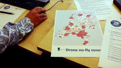 Politie en KMar controleren dronepiloten