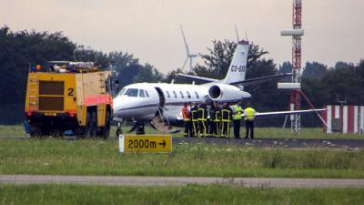 Vliegtuig maakt noodlanding op Rotterdam the Hague Airport
