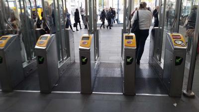 NS sluit haar poortjes voor 'niet leden' op station Utrecht Centraal