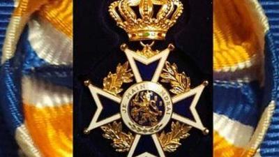 Max van den Berg Officier in de Orde van Oranje-Nassau