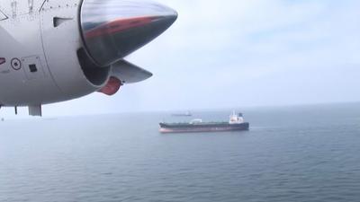 Defensie controleert boven Noordzee op olielozingen