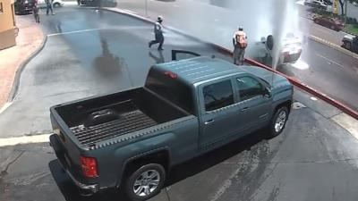 Auto total loss na uitrijden wasstraat