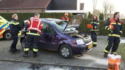 Auto's botsen in Schoonebeek