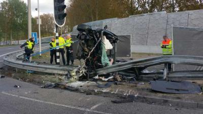Ernstig verkeersongeval in Amsterdam Noord