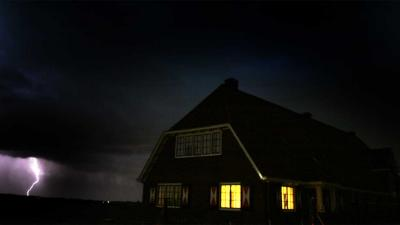 foto van onweer | Frank van den Berg