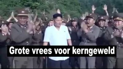 Grote vrees voor kerngeweld tussen Amerika en Noord-Korea