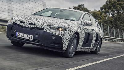 Teaserfoto's nieuwe Opel Insignia vrijgegeven