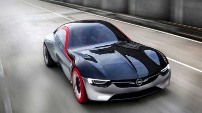 Adembenemende Opel GT Concept sportcoupé