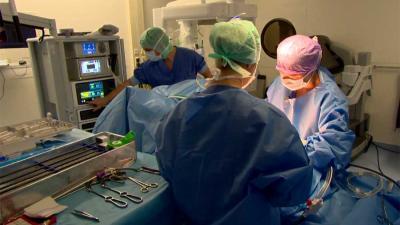 Live prostaatoperatie gevolgd door 25.000 mensen