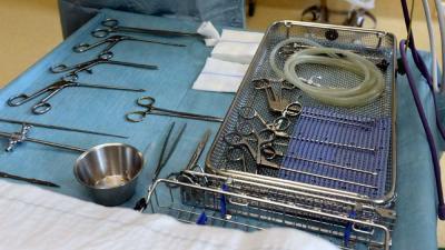 Foto van operatie instrumenten ziekenhuis | Aneo Koning | www.fotokoning.nl