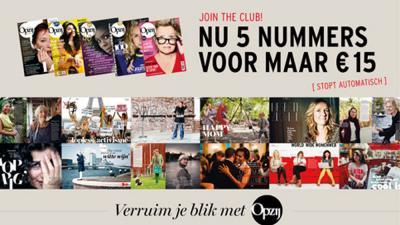 Screenshot maandblad 'Opzij' | Veen Media